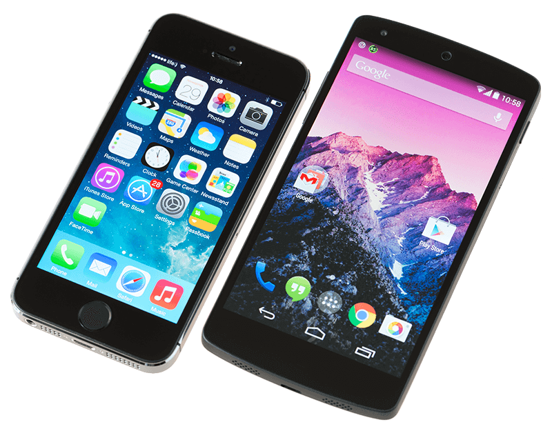 phone Who's Winning, iOS or Android? All the Numbers, All in One Place - iphone vs android min