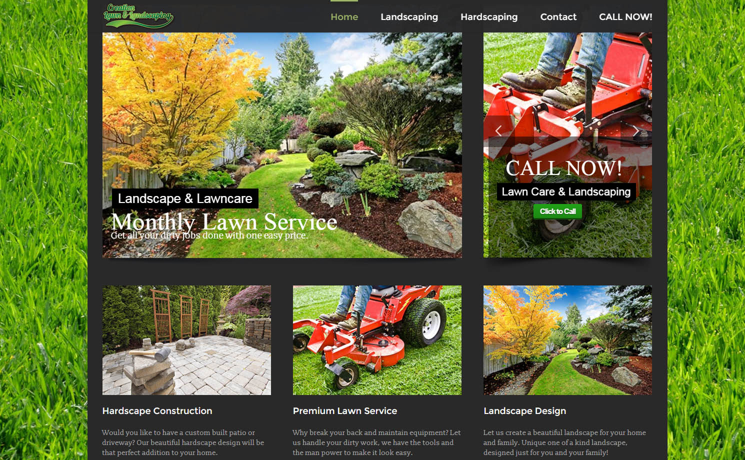 Creation Lawn and Landscape - Creation Lawn And Landscape Fort Lauderdale Internet Marketing