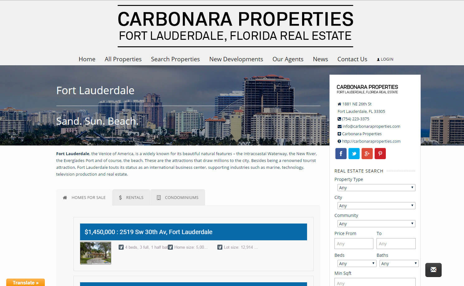 Our Portfolio Fort Lauderdale Internet Marketing Service