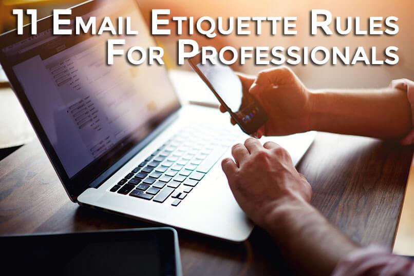 11 Email Etiquette Rules For Professionals Fort Lauderdale Internet Marketing Service Gordo Web Design